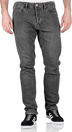 Topman Mens Stretch Slim Fit Jeans (Grey, 32 Waist Regular Leg)