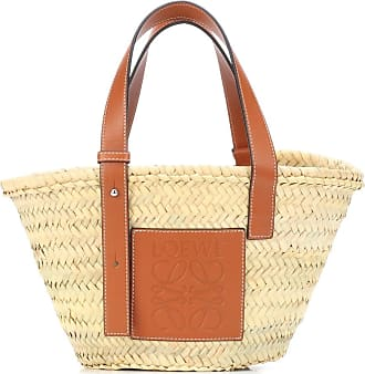 Loewe Borsa Basket Bag Small in paglia e pelle 0e2dc3a1e34
