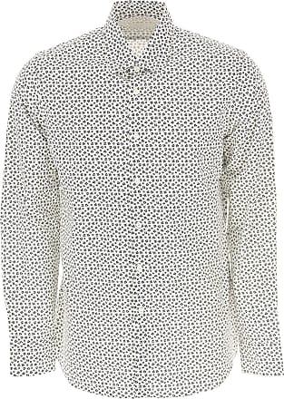 3b6852d79b Prada Camicia Uomo On Sale in Outlet, Bianco, Cotone, 2017, 38 39
