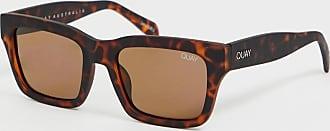 Quay in control square sunglasses in tort-Brown