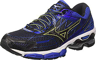 best sneakers 7b0b3 7581a Mizuno Wave Creation 19, Chaussures de Running Homme, Multicolore  (Blackblackdazzlingblue), 39