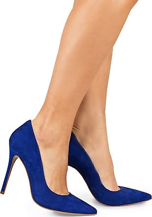 Paula Brazil Scarpin Grazi 930-80030/930-80138/999-80562 Nobuck Azul (Moscow -Forro Azul) Azul - 39
