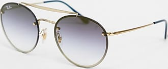 Ray-Ban Ray-ban - Ronde zonnebril in goud ORB3614N