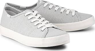 Keds Kickstart Chambray in grau, Schnürschuhe für Damen