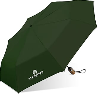 Weatherproof Auto Open/Close Compact Umbrella