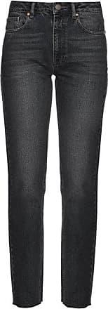 Raey Rail High-rise Straight-leg Jeans - Womens - Black