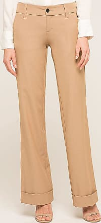 Alloy Apparel Tall Clarkson Trousers for Women Khaki Size 1/35 - Rayon/Spandex