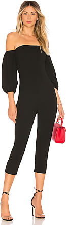 Bcbgmaxazria Strapless Jumpsuit in Black