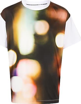 Fumito Ganryu Camiseta decote careca com estampa - Branco