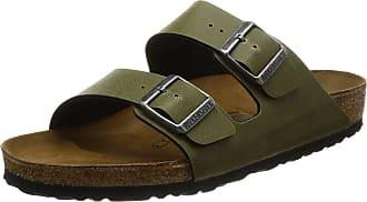 cb5c807d69ec89 Birkenstock Adults Arizona Sandals Green (Pull UP Olive) 7.5 UK 41 EU