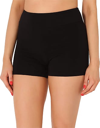 Merry Style Womens Shorts MS10-359(Black,S)