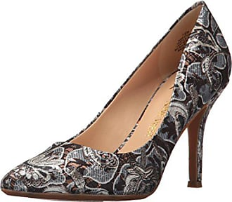 Nine West Womens FIFTH9X Fifth Pointy Toe Pumps, Silver/Multi - 10.5 B(M) US