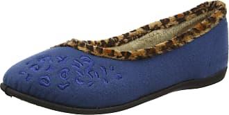 Padders Womens Savannah Low-Top Slippers, Blue (Denim Blue), 8 UK 41 EU