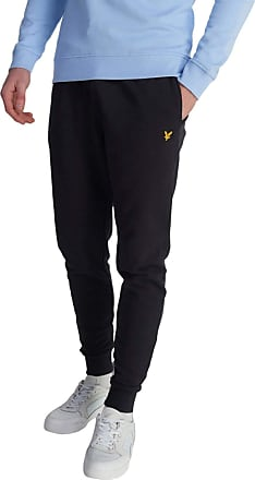 Lyle & Scott Lyle and Scott Men Skinny Sweat Pant - Cotton - XXL Jet Black