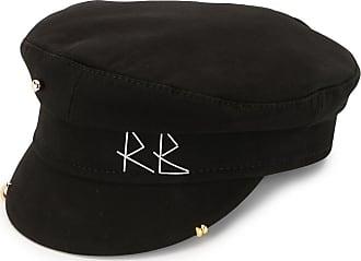 Ruslan Baginskiy stitch logo bake boy hat - Preto