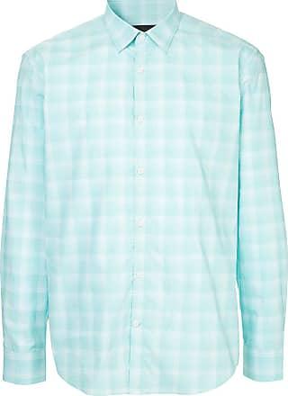 Durban long-sleeved check shirt - Green
