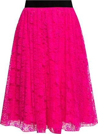 Philipp Plein Skirt With Gathers Womens Pink