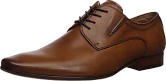 Aldo Mens Wide Width Dress Lace Up Shoes, WAKLERR-W in Cognac, Size 10.5 Uniform