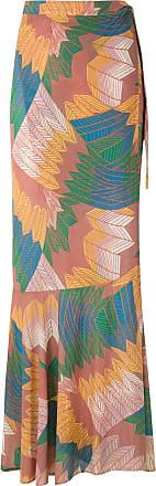 Amir Slama Cocar wrap skirt - Multicolour