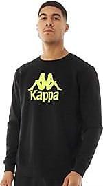 Kappa slim fit brushback fleece crew neck sweat