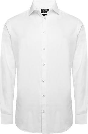 Original Penguin Cotton White Dobby Shirt 20