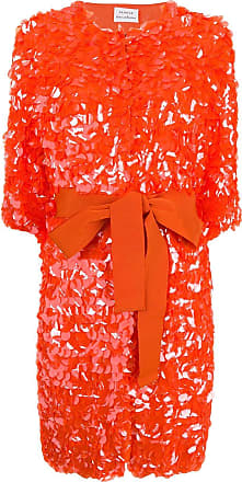 P.A.R.O.S.H. large sequins coat - Orange