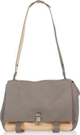 Proenza Schouler Leather PS LARGE COURIER Satchel Bag Größe Unica