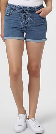 NA-KD Damen Jeansshorts blau