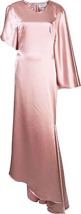 Osman Vestido de festa drapreado Minellie - Rosa