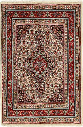Nain Trading 116x77 Moud Mahi Rug Brown/Pink (Iran/Persia, Wool/Silk, Hand-Knotted)