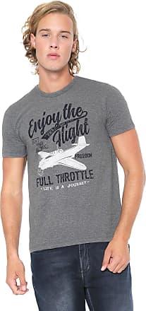 Malwee Camiseta Malwee Full Throttle Cinza