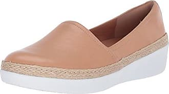 FitFlop Womens CASA Loafers Sneaker, Nude, 11 M US