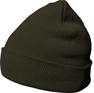 DonDon winter hat beanie warm classical design modern and soft olive-brown