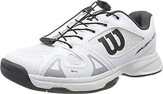 tenistas de Cualquier Nivel para Hombre Wilson Rush Pro 3.0 Clay n/úmero 41 EU para Todo Tipo de Superficies Blanco//Azul Zapatilla de Tenis