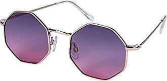 SIX Sonnenbrille mit pinken Gl/äsern in Herzform 324-539