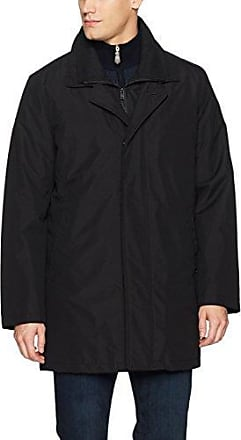 Kenneth Cole New York Mens Ridge 37-Inch Double-Breasted Belted Trench Coat