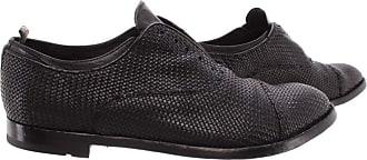Officine Creative Mens Shoes Anatomia/43 Intreccio Leather Black