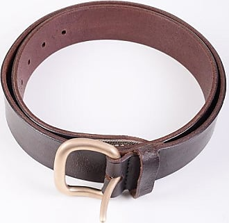 Orciani Vintage Effect Leather Belt 40mm Größe 105