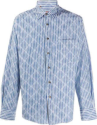Missoni Camisa com estampa geométrica - Azul