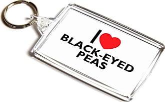 ILoveGifts KEYRING - I Love Black-Eyed Peas - Novelty Food & Drink Gift