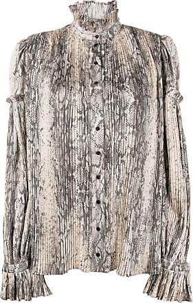 WANDERING Blusa com estampa de pele de cobra - Neutro