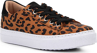 cb1648a1bd1 Shoestock Tênis Couro Shoestock Nobuck Wild Onça Feminino - Feminino