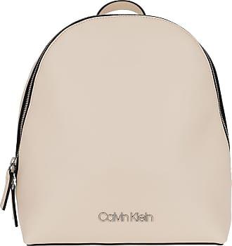 Calvin Klein Must Backpack Bleached Sand Rucksack rosa
