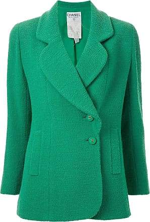 Chanel double breasted blazer - Green
