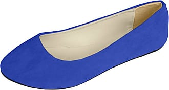 Vdual Women Ladies Slip On Flat Comfort Walking Ballerina Shoes Size UK 2.5-8