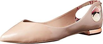 Ted Baker Womens DABIH Ballet Flat, Nude, 9 M US