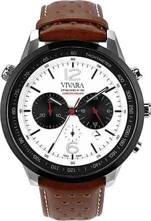 Vivara Relógio Vivara Masculino Couro Marrom - DS13700R1K-1