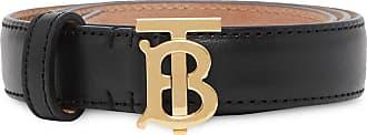 Burberry TB monogram belt - Black