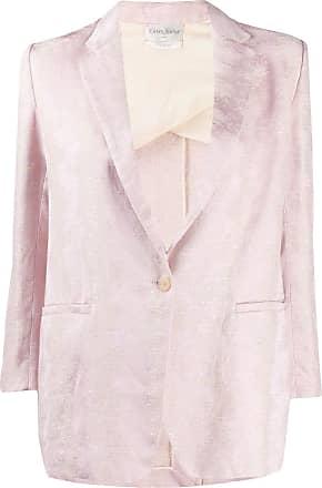 Forte_Forte jacquard-print jacket - PINK
