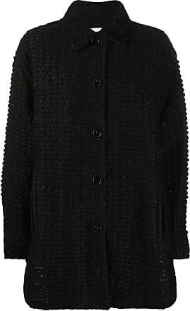 Iro Bray oversized cardi-coat - Black